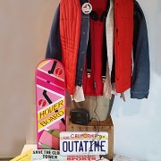 Marty Mcfly Costume Cosplay Comicon Planet Comic-Con Outfit BTTF Hoverboard