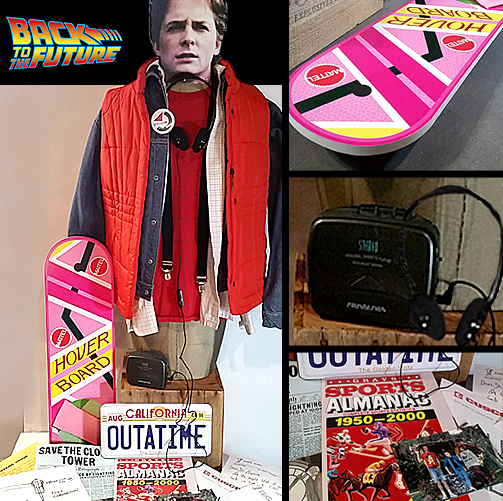 Marty Mcfly Halloween Costume Small