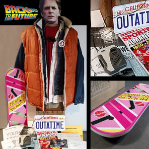 Marty Mcfly Halloween Costume XL