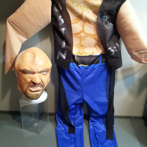 Steve Austin Costume WWF 1999 Halloween Cosplay Stone Cold
