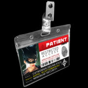 Catwoman Arkham Name Badge