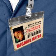 Halloween Michael Myers ID Sanitarium Badge