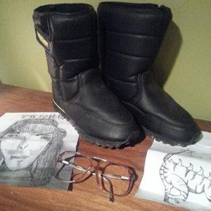 Napoleon Dynamite Boots Halloween Costume & Glasses