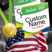 Rio Olympics Track Star Halloween Costume