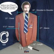 Ron Burgundy Costume C