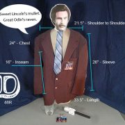 Ron Burgundy Costume D
