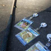 Happy Gilmore Halloween Costume Hockey Golf Putter & Waterbury Badges