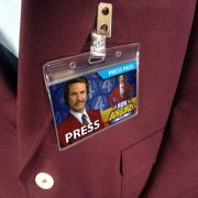 Anchorman Ron Burgundy Name Badge