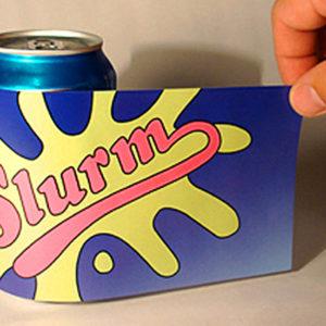 Slurm Soda Can Labels