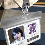 Stranger Things Hawkins Middle School Halloween Costume ID Badges