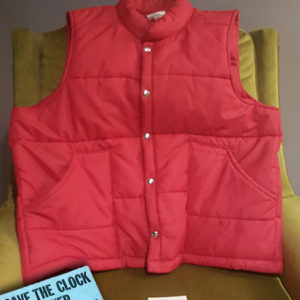 Mcfly Red Orange Puffy Vest