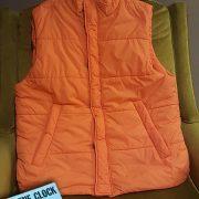 Mcfly Red Orange Puffy Vest