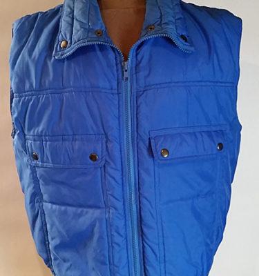 Vintage Ozark Trail Blue Puffer Vest