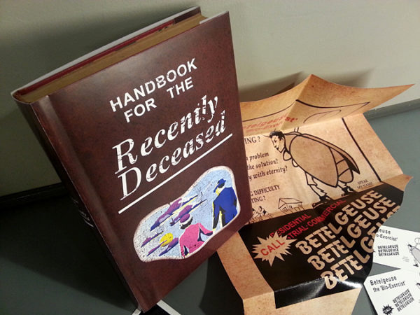 Beetlejuice Handbook for the Recently Deceased Book BCs Prop Halloween Costume Cosplay