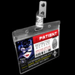 Catwoman Arkham Name Badge