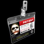 Arkham Joker Heath Ledger Prison ID