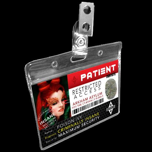 Arkham Asylum Prison Inmate Badge