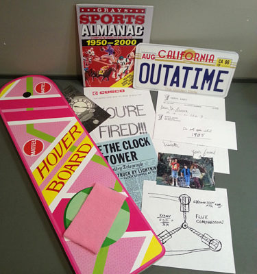Back to the future Hoverboard Costume Set