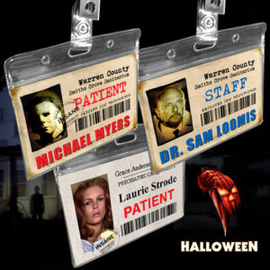 Halloween John Carpenter ID Badges