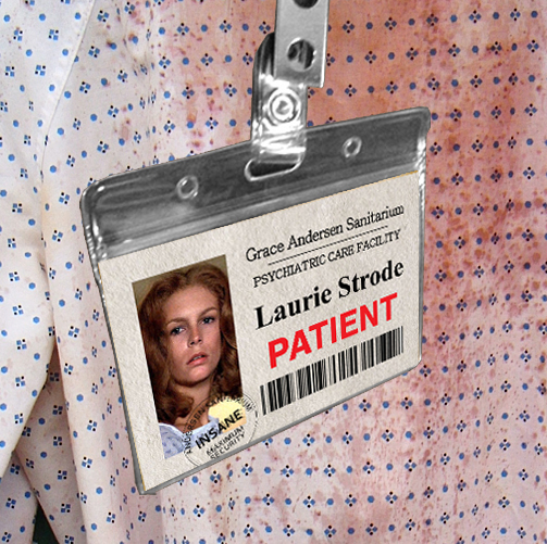 Halloween John Carpenter ID Badges Laurie Strode