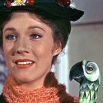 Mary Poppins Bow Tie & Umbrella Handle Costume