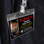 Huck - Scandal Pope & Associates Name Badge ID Card