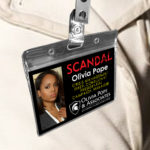 Olivia Pope - Scandal Pope & Associates Name Badge ID Card