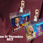 Anchorman Ron Burgundy Veronica Corningstone Name Badge
