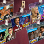 Anchorman Team Name Badge SET