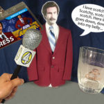 Ron Burgundy Costume SET