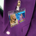 Anchorman Veronica Corningstone Name Badge