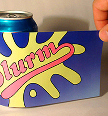 Slurm Soda Can Labels