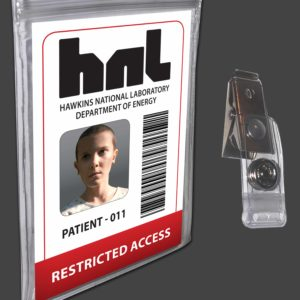 Stranger Things Eleven Halloween Costume ID Badge