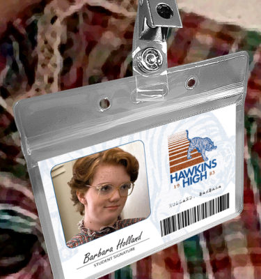 Stranger Things Hawkins High School Halloween Costume ID Badges