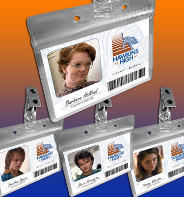 Hawkins High School ID cards