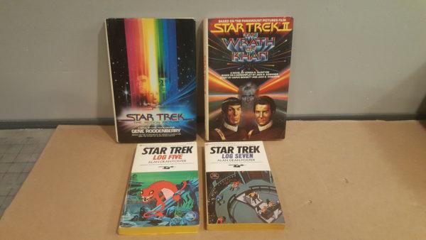 Star Trek Book Lot